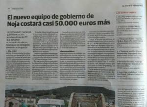 Articulo en El Diario Montañes subido por SomosNoja (Facebook)